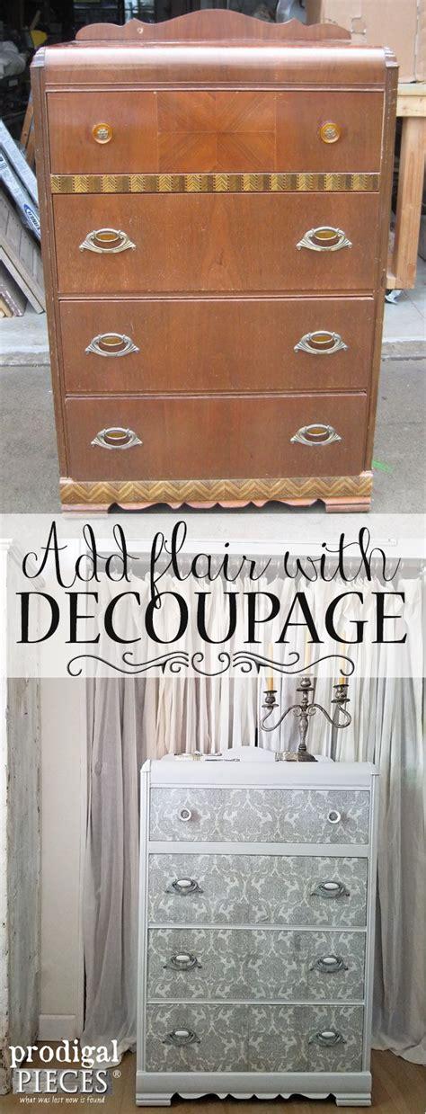 decoupage tutorial furniture 25 unique decoupage furniture ideas on pinterest diy
