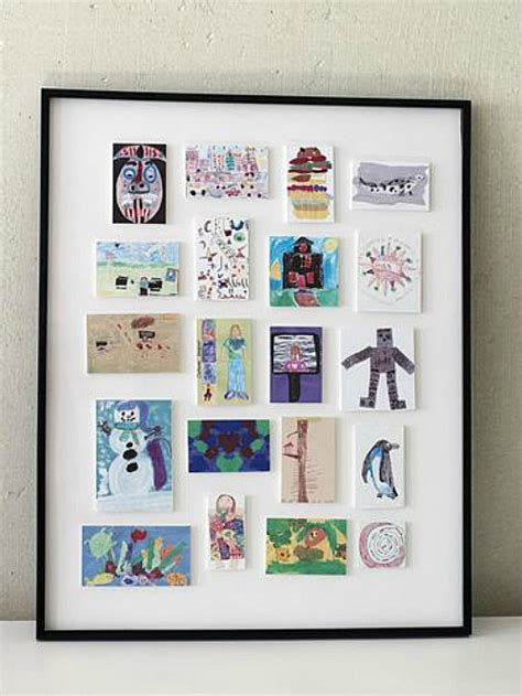how to frame a print how to display kids artwork clean and scentsible