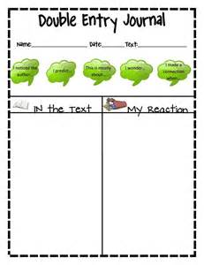 sided journal entry template pin by tammy beeks on middle school ela