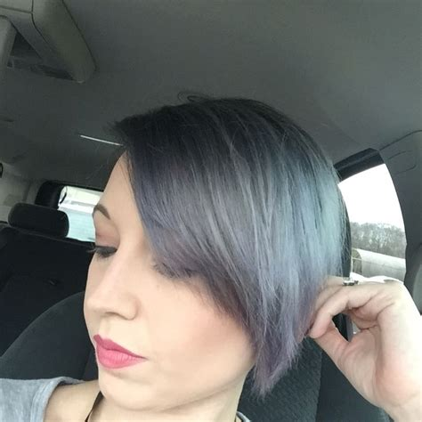 silver blonde root shadow hair ideas pinterest shadow root with silver hair and vibrant purple tips