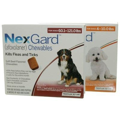 chewable flea and tick for dogs nexgard chewables for dogs flea and tick killer vetrxdirect
