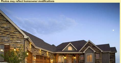 l shaped garage dream home pinterest l shaped house with attached garage house plan