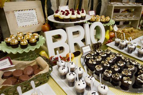 brio thanksgiving dinner fall inspired dessert table love every detail