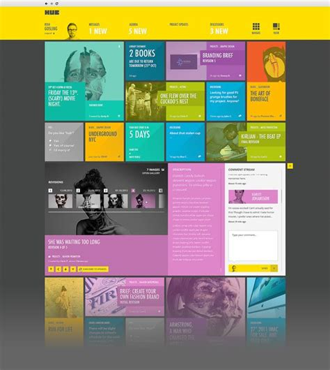 grid pattern ui automation 46 best intranet homepage exles images on pinterest