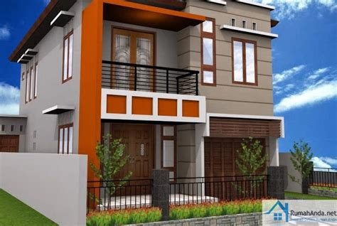 desain eksterior rumah minimalis 2 lantai inilah model rumah minimalis terbaru 2 lantai