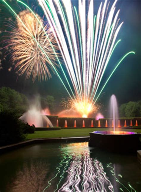 Longwood Gardens Fireworks by Longwood Gardens Hosts Its Two Fireworks And