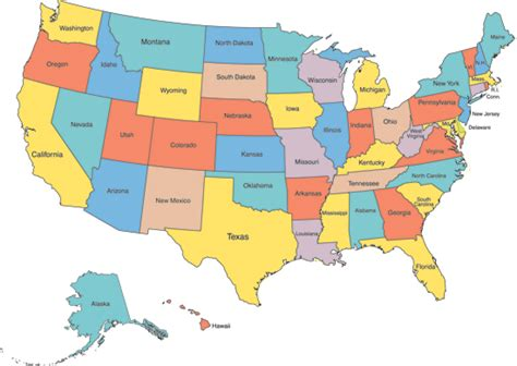 us map images links to state boards consumers union