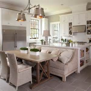 kitchen island with attached table pin by sheli o neal on for the home