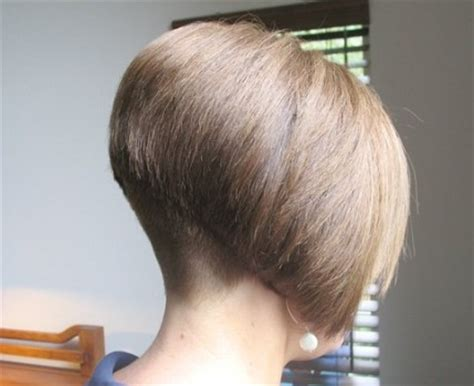 what does the back of a short bob haircut look like bob cut super short in the back hair awesomeness