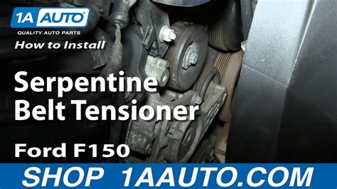 replace serpentine belt tensioner