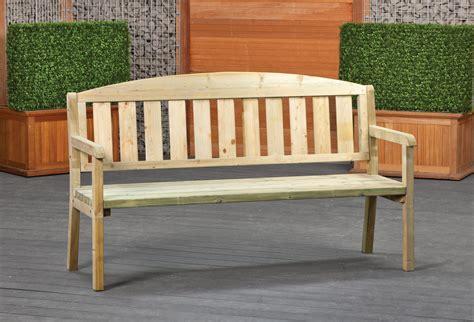 bank 100 cm houten tuinbank 120 x 100 cm goedkope bankje voor buiten