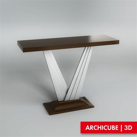 console 3d console table 3d model max obj fbx cgtrader