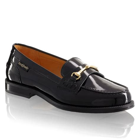 and bromley patent loafers bromley sale brewster snaffle trim