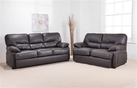 Elegant Leather Sofas One Decor Leather Sofa