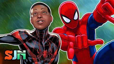 film cartoon spiderman spider man animated movie will feature miles morales