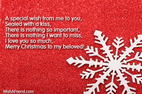 special     christmas message  girlfriend