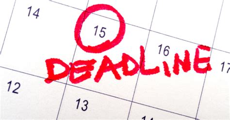 March 15 Mba Deadline by Don T Miss June 15 Tax Deadlines Don T Mess With Taxes