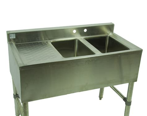 10 Wide Bar Sink by 2 Compartment Stainless 37 Quot Small Bar Sink Db L Free Faucet