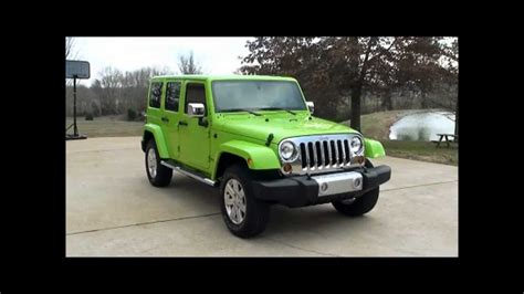 gecko green jeep for sale sold 2013 jeep wrangler shara 4x4 gecko pearl green for
