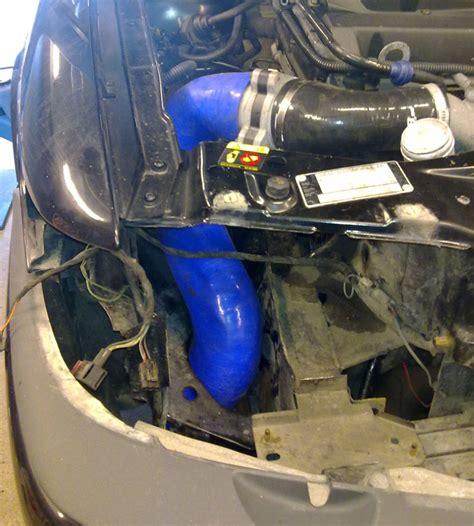 saab 9 3 t7 99 02 cold air filter relocation kit saab pipe