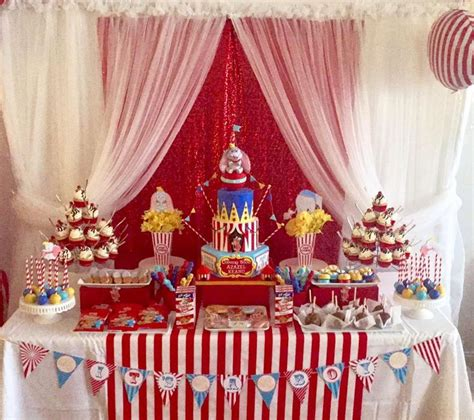 Circus Baby Shower by Dumbo Circus Baby Shower Cakecentral