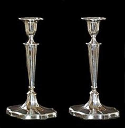 silver candlestick by loofs adam exquisite adam style antique solid english sterling silver
