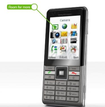 themes j105 reader review sony ericsson j105 naite smartphone