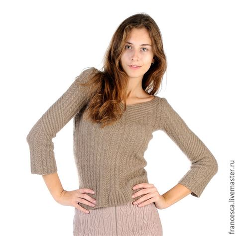 Classic Beige Small Braided Design Knitting Wool Fashion Hats knitted sweater beige v neck pullover classic jumper shop on livemaster