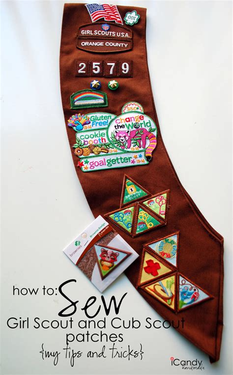 quest placement pattern how to sew girl scout cub scout patches icandy handmade