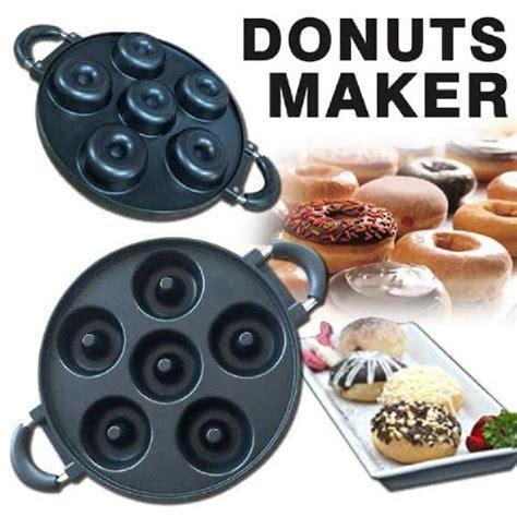 Teflon Donat lejel cetakan kue donut alat panggang happy call teflon