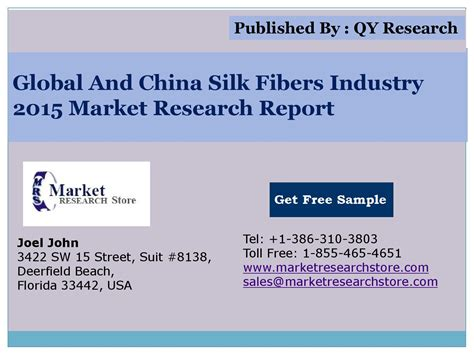 market research report sle global and china silk fibers industry 2015 market research