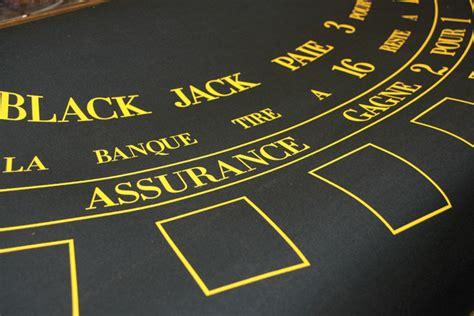Tapis De Blackjack by Ludicbox Tapis De Black En Drap De Jeux