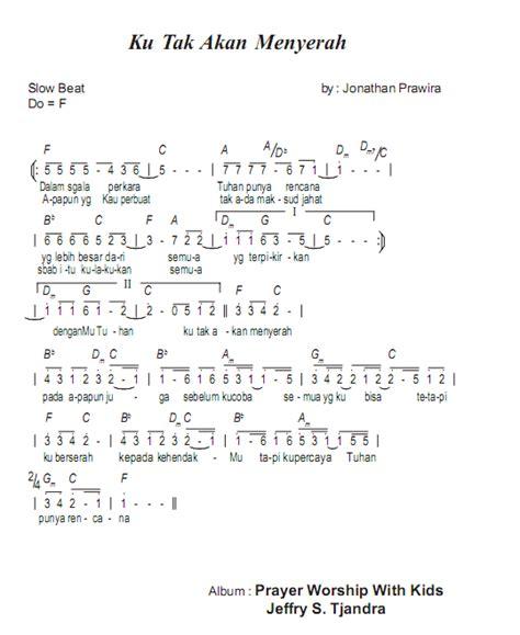 tutorial keyboard lagu rohani not angka lagu rohani jangan lelah belajar not angka
