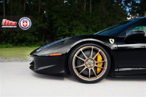 ferrari 458 wheels ferrari 458 italia on hre wheels photo gallery 5