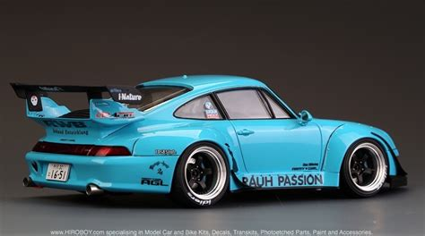 widebody porsche 993 1 24 rwb porsche 993 widebody kit for ver quot rauh