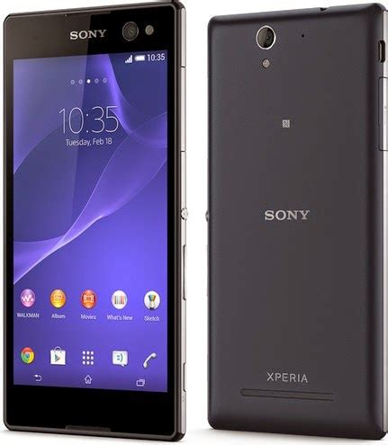 Handphone Sony Xperia C6 spesifikasi dan harga sony d2533 xperia c3 lte black wtc handphone
