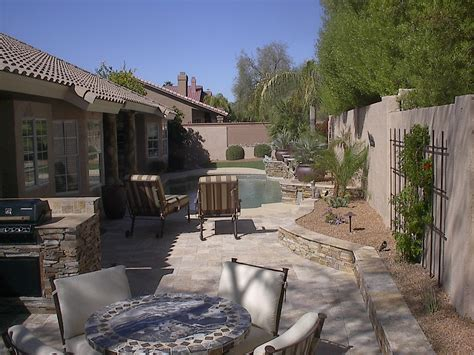 backyard hardscape designs phoenix anthem az patio designs hardscaping