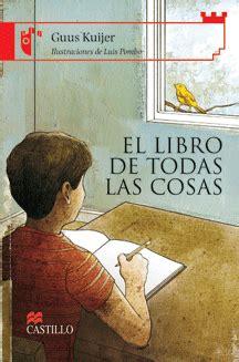 libro todas las historias de libro de todas las cosas guus kuijer donde viven los libros
