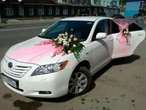 la d 233 coration de voiture de mariage c est faisable