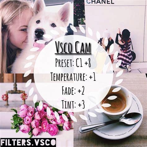 tutorial vscocam c1 50 vsco cam filter settings for better instagram photos