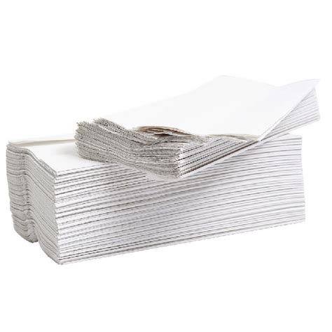 White C Fold Paper Towels - 2work flushable c fold paper towel 2 ply white pack