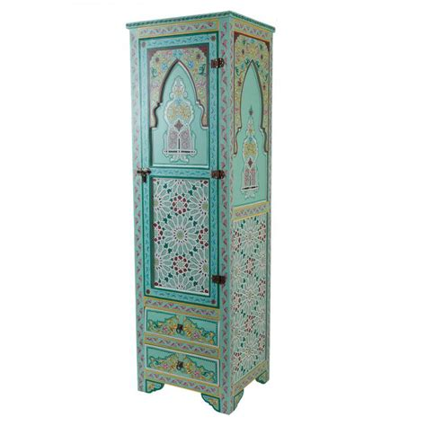schrank 45x45 marokkanischer holz schrank jamal bei ihrem orient shop