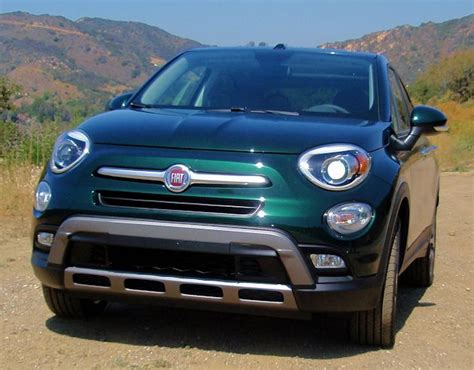 Does Fiat Own Chrysler by 2016 Fiat 500x Test Drive Our Auto Expert