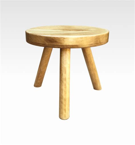 modern plant stand small wood stool tea by candlewoodfurniture
