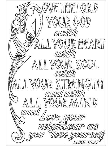 coloring pages with scripture religious quotes coloring pages adult quotesgram