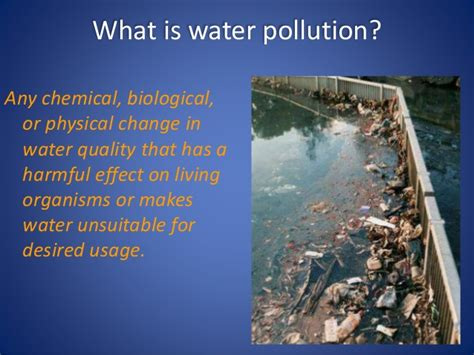 What Is Water Shed by Ppt On Water Pollution