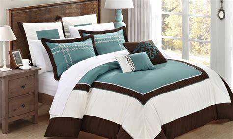 comforter groupon 7 piece comforter set groupon goods