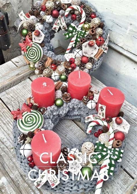 Weihnachts Deko Basteln 2163 by 109 Besten Adventkr 228 Nze Rot Bilder Auf