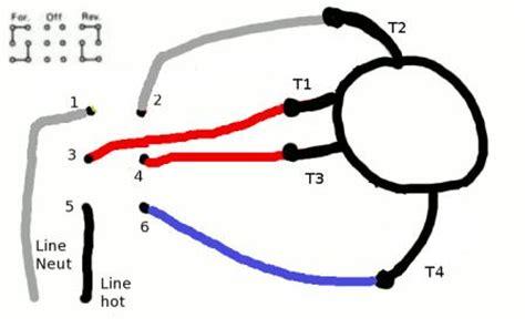 instant reversing motor wiring diagram get free image