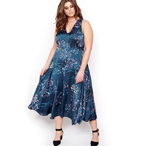 Rizaliana Flowery Flare Midi Dress summer midi dresses for when you re not ready for a mini flare